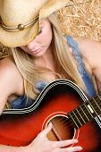Blonde Country Music Girl