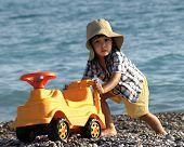 Fun Little Boy Beach