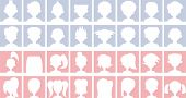 Anónimo predeterminado avatares