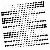 Dots, Half-tone Element. Speckle, Stipple Geometric Pattern. Circles Halftone Pattern. Polka Dots, S poster
