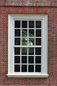 Colonial Window And Wall