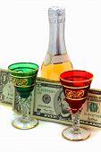 Money Is Spent For Wine