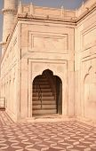 Abstract Background Of Architectural Details Of Mosque, Mosque Entrance, Arch Doorway Entrance, Isla poster