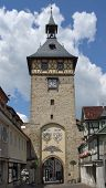 Tower With Archway In Marbach