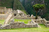 The Inca Ruins At Machu Picchu, Peru