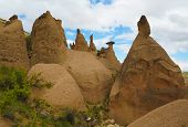 Close-up View To Devrent Valley Aka Valley Of Imagination In Cappadocia, Turkey poster