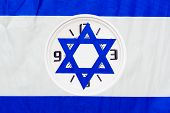Elections Israel.time To Vote Democracy Election Clock.israel Daylight Saving Time Started Or Ended. poster