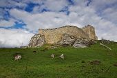 Walls Of Spis? Castle In Slovakia
