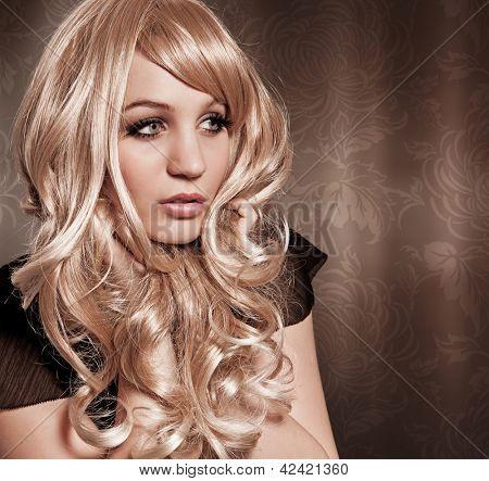 curly blond girl Brigitte Bardot