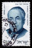 Prêmio Nobel laureado escritor Shmuel Yosef Agnon
