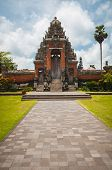 Main Gate To Pura Taman Ayun