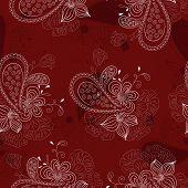 vinous floral pattern