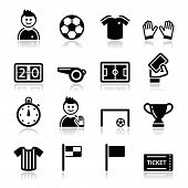 Fútbol / Fútbol vector icons set