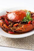 Chili-Krabbe