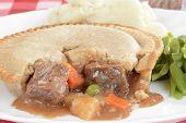 Macro beef pie