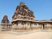 picture of krishna  - Krishna Temple at the Sacred Center around Hampi a city located in Karnataka South West India - JPG