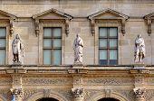 France, Paris: Ancient Famous Monuments Louvre Palace