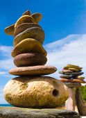 picture of fulcrum  - Zen Pebbles Sustainable Growth - JPG