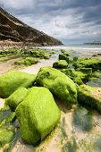 Beach Of Llanes, Asturias, Spain