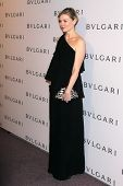 LOS ANGELES - FEB 19:  Kirsten Dunst arrives at the BVLGARI Celebrates Elizabeth Taylor's Jewelry Co