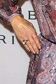 LOS ANGELES - FEB 19:  Kate Walsh arrives at the BVLGARI Celebrates Elizabeth Taylor's Jewelry Colle