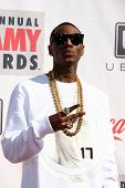 LOS ANGELES - FEB 17:  Soulja Boy arrives at the 2013 Streamy Awards at the Hollywood Palladium on F