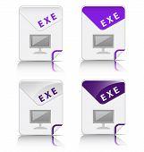 EXE file type icon