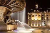 Fountain Of The Three Graces, Bourse Square, Bordeaux, Gironde, Aquitaine, France