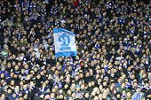 Fc Dynamo Kyiv Fans Support Their Team