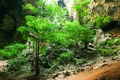 Enchanting Tropical Mountain Cave