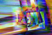 stock photo of pearlescent  - Multicolored abstract photo - JPG