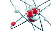 3D atom or molecule