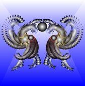 Ritual Dances Aliens From A Distant Planet Nibiru.