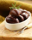 ripe black kalamata olives