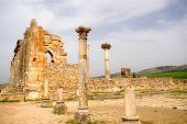 The Ancient Basilica, Volubilis, Morocco