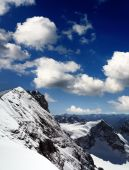 Titlis Mountain Landscape