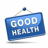 pic of indications  - good health healthy life and vitality energy sane mind and body icon button sign - JPG