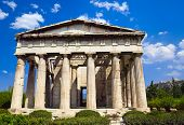 Ancient Agora At Athens, Greece