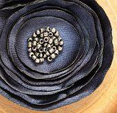 Dark Blue Brooch