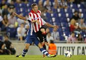 BARCELONA - SEP, 23: Iker Muniain of Athletic Bilbao in action during a Spanish League match between