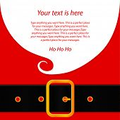 Huincha mensaje de Papá Noel