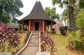 pic of minangkabau  - Themappark with different traditional buildings  - JPG