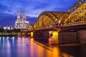 stock photo of dom  - Cologne Cathedral in Cologne - JPG