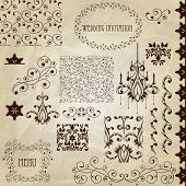 Vector Vintage Design Elements