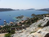 Landscape of the Gulf of Kekova.
