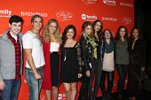 LOS ANGELES - OCT 15:  Pretty Little Liars Cast at the