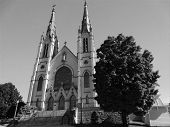 St. Andrew's Catholic Church in Roanoke, Virginia, USA