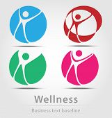 Wellness Busines Icon Set