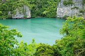 The lagoon called 'Talay Nai' in Moo Koh Ang Tong National Park