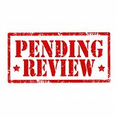 Pending Review-stamp